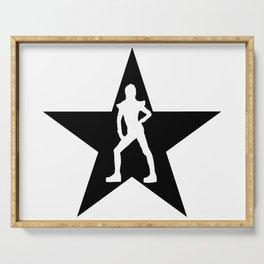 Bowie Ziggy Blackstar Serving Tray