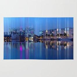Docklands in motion  Rug
