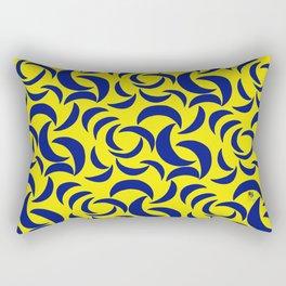 Many Moons - Yellow Rectangular Pillow