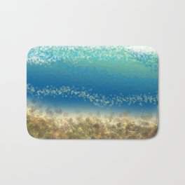 Abstract Seascape 04 wc Bath Mat