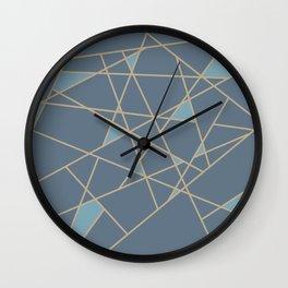 GOLD T Wall Clock
