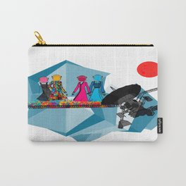 Space girls  Carry-All Pouch