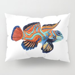 MANDARIN FISH Pillow Sham