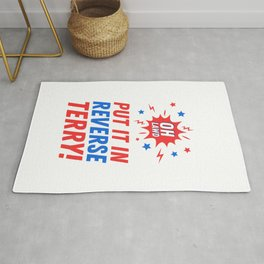 Put It In Reverse Terry - Back It Up 4th of July Meme Rug