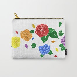 lgbt roses Carry-All Pouch