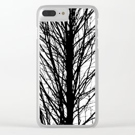 Branches 5 Clear iPhone Case