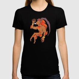 Tea Toting Ifrit T-shirt