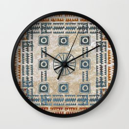 Ancestral Ornament 1B Wall Clock