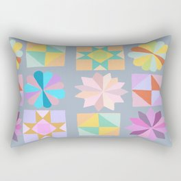 quilt bee Rectangular Pillow