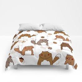 Squirrels & Acorns Comforters
