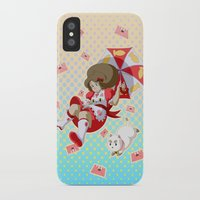 bee and puppycat iPhone & iPod Cases featuring Bee and Puppycat by Artist Meli