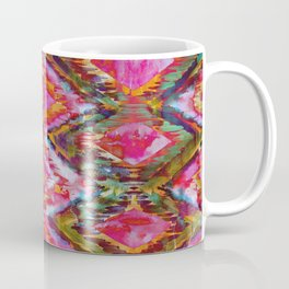 Ikat #32 Orange Coffee Mug