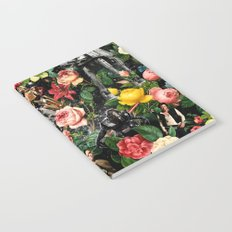 1977-2016 Starwars and Floral Pattern  Notebook
