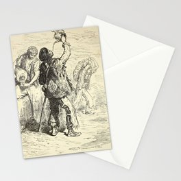 Gustave Doré - Aguadores de Lorca (1874) Stationery Cards