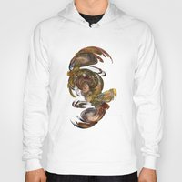 baroque Hoodies featuring Baroque by Tobias Bowman