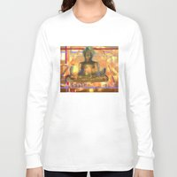 meditation Long Sleeve T-shirts featuring Meditation by Paola Canti