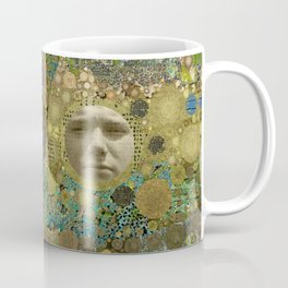 Into the Woods Abstract Art Collage Coffee Mug