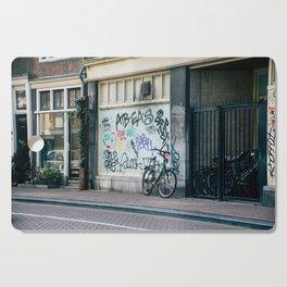 Streets of Amsterdam Cutting Board