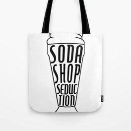 Soda Shop Seduction Tote Bag