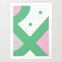 Geometric Calendar - Day 36 Art Print