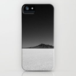 Bonneville Salt Flats iPhone Case