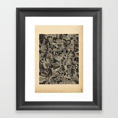 - flore - Framed Art Print