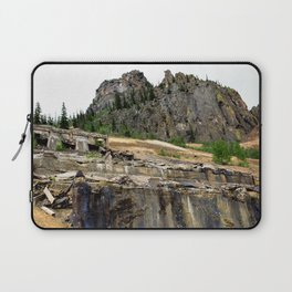 At the Base of the Sunnyside Mill at Eureka, on the Animas River Laptop Sleeve
