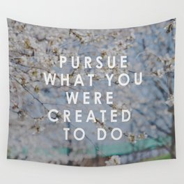 Pursue Creativity  Wall Tapestry