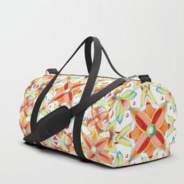 Suzani Textile Pattern Duffle Bag