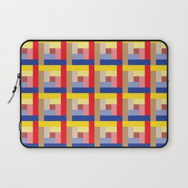 Sundial (Yellow, Red, Blue, Brown) Laptop Sleeve