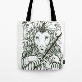 Lionviol Tote Bag