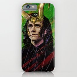 a king is a just man iPhone Case