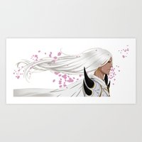 return Art Prints featuring Return by shin_ji