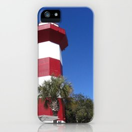 Habour Town Lighthouse iPhone Case