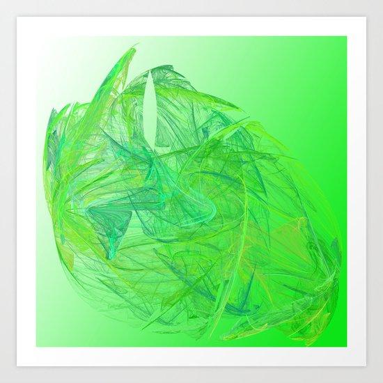 Vegetable Art Print