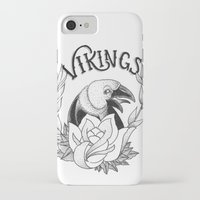 vikings iPhone & iPod Cases featuring Vikings by Christiano Mere