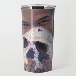 Island Cannibal - Vintage Collage Travel Mug
