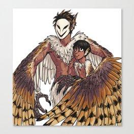 Harpy Spook & Micah Canvas Print