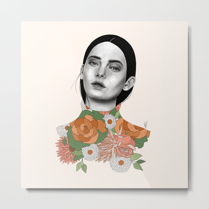 You Can Find Me In Spring Metal Print