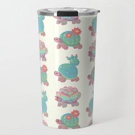 Cactus tortoise Travel Mug