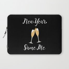 New Year Same Me Laptop Sleeve