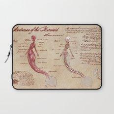 Anatomy of the Mermaid Laptop Sleeve
