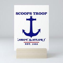 Scoops Troop Mini Art Print