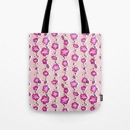 Raspberry Crush Wildflower Tote Bag