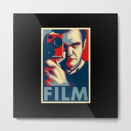 "Quentin Tarantino ""Film"" Poster Metal Print"