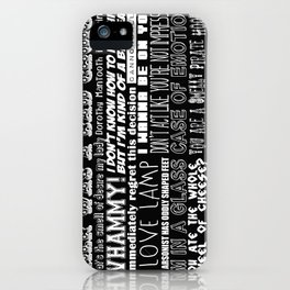 Anchorman Love iPhone Case