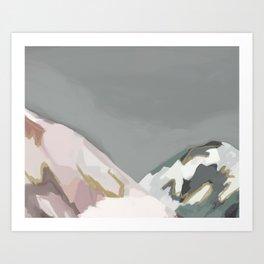 Mountains #2 Art Print