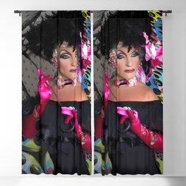 Alan T as Mae West Fx by @OvahFx Blackout Curtain