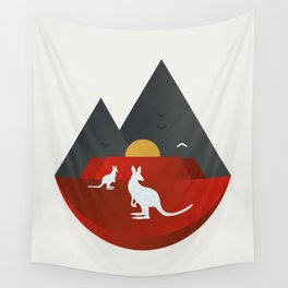 The Australian Outback Wall Tapestry