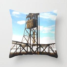 Stillwater Draw Bridge Throw Pillow